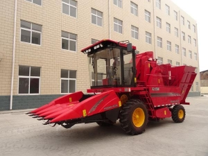 China TR9988-4570 self propelled corn combine harvesting machine on sale
