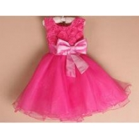 China baby girl frock fancy smoking dress for kids Flower girl dress on sale