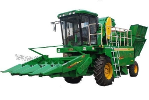 China Self-propelled Corn Harvester on sale