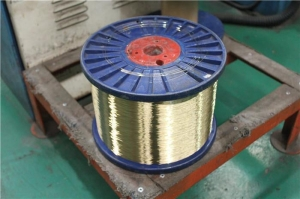 China 0.50mm Normal Tensile Strength Hose Line Brass Clad Steel Wire for Hydraulic Hose on sale