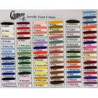 Yarns (20) (2500)Cameo ACRYLIC Yarns