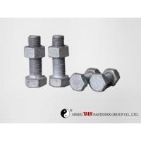 China Hot dip galvanization bolts grade 4.8 on sale