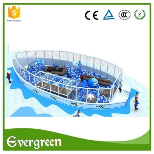 China Ocean Theme Children Indoor Soft Play Areas Playground Equipment on sale