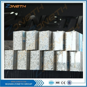 China WALL PANEL Eps sandwich cement lightweight building panels on sale