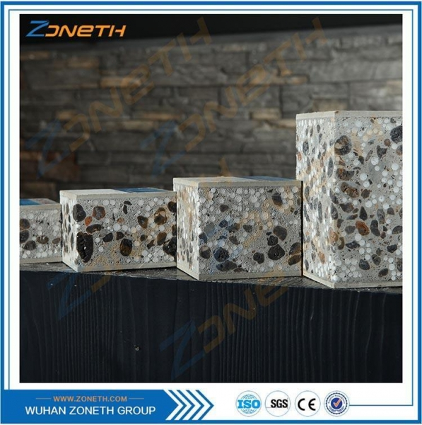 China Manufacture India sandwich cement decorative wall panel sys