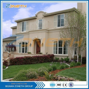 China Zoneth brand sandwich prefabricated concrete walls for house on sale