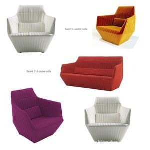 China Fabric Sofas Lounge Armchair Linen Fabric Single Seat Sofa on sale