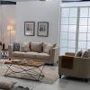 China Linen Sofas Living Room Fabric 321-Seater Sofa Set Design for sale