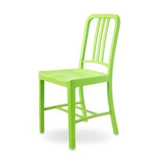 China Plastic Chairs Modern Seat Brushed Plastic Restaurant Dining Chair on sale