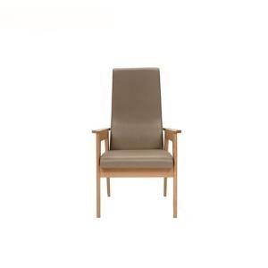 China Dining Chairs Contemporary Visitor High Back Wooden Commercial Armchair supplier