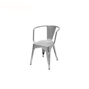 China Dining Chairs Replica Industrial Stackable Steel Tolix Armchair on sale