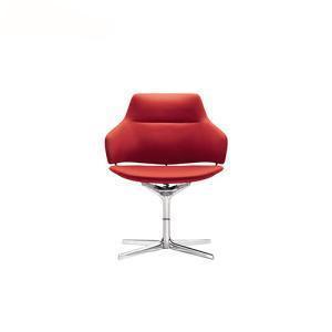 China Aluminium 4-Spoke Base Upholstered Executive Armchair on sale