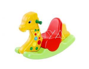 China Colorful Kiddie Plastic Rocking Rides on sale