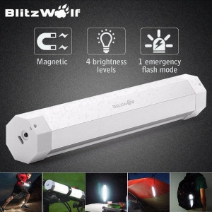 China olf Lamp Tent Camping gea 5V 12W net BlitzWolf Lam Lantern Flash Light Cam Rechargeable Magnetic LED on sale
