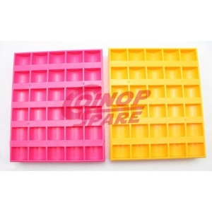 China Plastic Token Coin Counter Tray on sale