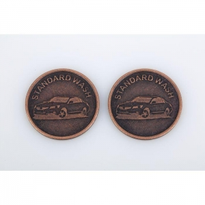China Custom Coin Token for Board Game Laundry Car Wash and Promotional on sale