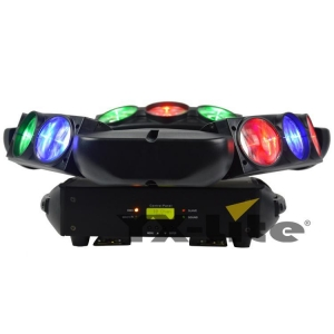 China 9X10W RGBW 4in1 LED Spider Beam Light on sale