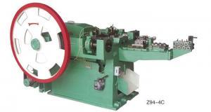 China 0124 - Z94-4c Automatic nail making machine on sale