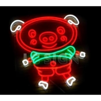 China bar open neon signs mini neon signs on sale