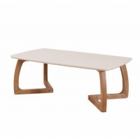 Modern simple design wooden coffee table to dining table