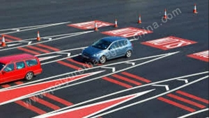 China coloured anti-skid surfacing on sale