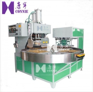 China Auto High frequency rotated table blister packing machine on sale