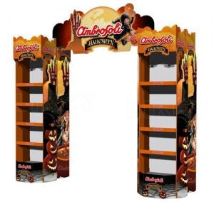 China Pallet Display Arch Display For Halloween on sale