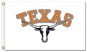 China NCAA Texas Longhorns 3'x5' polyester flags on sale