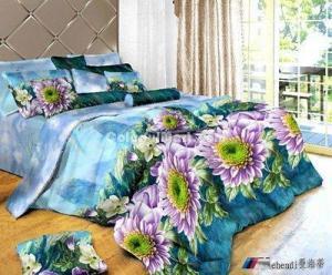 China Artistic Conception Bedding 3D Duvet Cover Set on sale