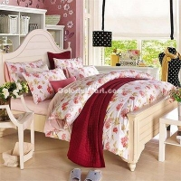 China Avril Light Pink Bedding Egyptian Cotton Bedding Luxury Bedding Duvet Cover Set on sale