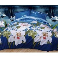 Blue Love Duvet Cover Set 3D Bedding