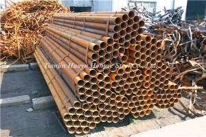 China ERW Welded Steel Round Pipe Tube on sale