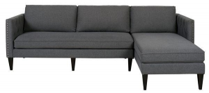 China Jennifer Taylor Mason Reversible Chaise Sectional By Room on sale