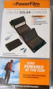China Industrial & Commercial Applications USB+AA Solar Charger on sale