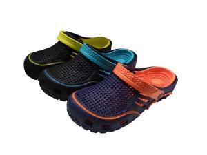 China Garden Shoes EVA Double Colors Clogs Shoes (9784) on sale