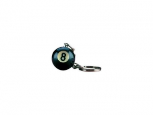 China PoolCues.com 8 Ball or 9 Ball Keychains on sale