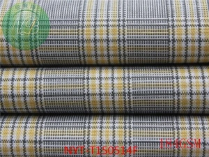China spandex check fabric ,cotton fabric factory on sale