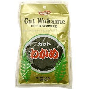 China Japanese Dried & Cut Seaweed Wakame - 2.5oz on sale