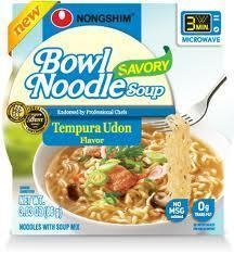 China Tempura Udon Ramen Noodle Bowl - 3 on sale