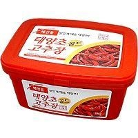 China Condiments HCD Hot Pepper Paste - 2.2lbs on sale