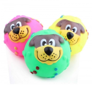 China color ball with dog face Model:021103 on sale