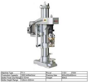 China Machines Single Head Capper Machine on sale