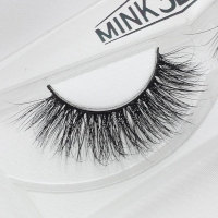 Qingdao iBeauty Premium 3D Mink Strip Eyelashes With Empty Eyelash Packaging 3D-11