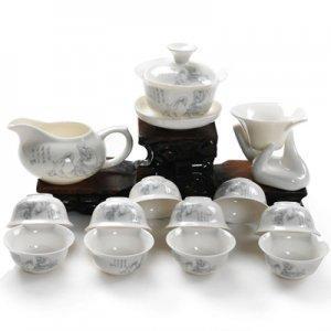 China Fine Bone China Tea Set (11 Styles) on sale
