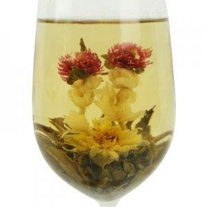 China Blooming Teas Double Dragons and a Pearl on sale