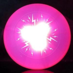 China Slicone Super Bright LED Flashing Dog Disc on sale