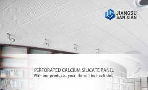 China Perforated Calcium Silicate Panel on sale