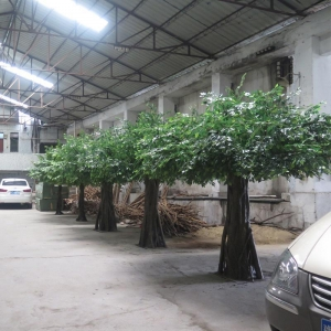 China Big artificial Ficus tree on sale