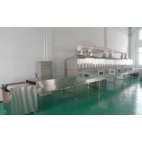 China 100kw oil free potato chips microwave baking equipment on sale