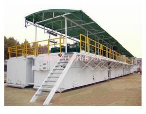China Drilling fluid circulating tank on sale